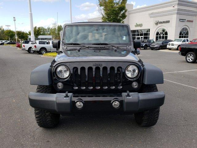 Pre-Owned 2016 Jeep Wrangler Unlimited 4WD 4dr Willys Wheeler