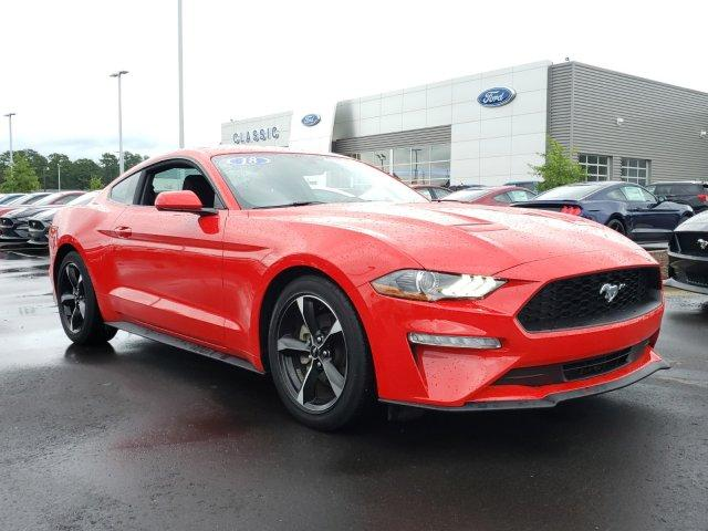 Pre-Owned 2018 Ford Mustang EcoBoost Fastback