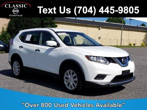 Certified Pre-Owned 2016 Nissan Rogue AWD 4dr S